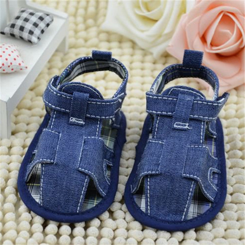 Baby summer Pre-walker Denim Sandals