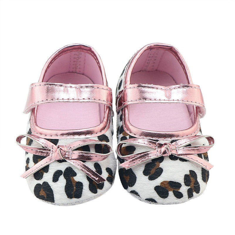 Cute First Walkers Pink Leopard Shoes
