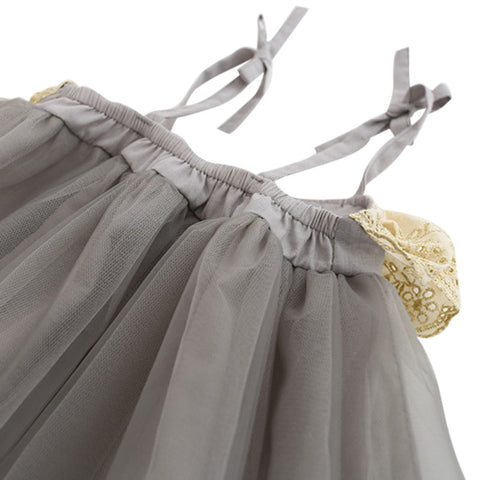 Beautiful Mesh & Lace Dress for Toddler/Girl