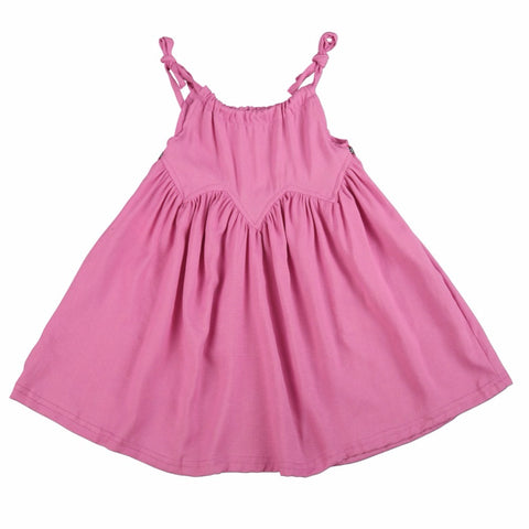 Summer Harness Pink Dress for Toddler/Girl