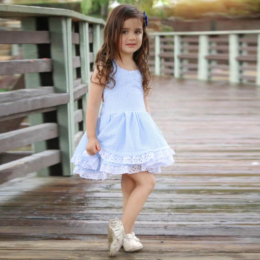 Elegant Sleeveless Dress for Toddler/Girl