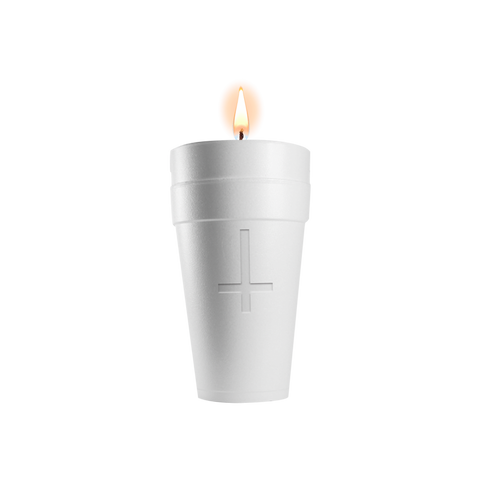 DOUBLE CUP CANDLE