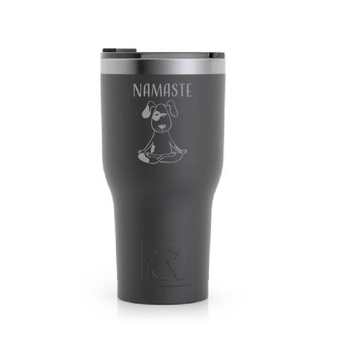 Stainless Steel Tumbler (20 oz) Black (Namaste)