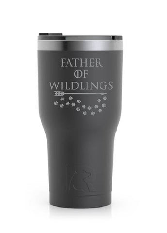 Stainless Steel Tumbler (20 oz) Black