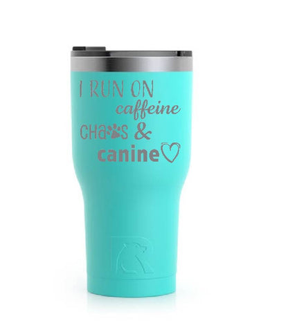 Stainless Steel Tumbler (20 oz) Teal