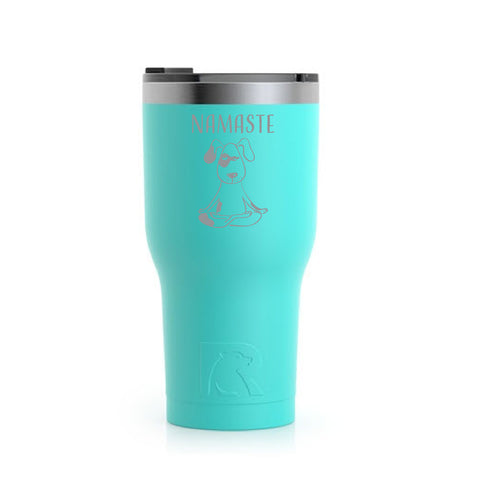 Stainless Steel Tumbler (20 oz) Teal (Namaste)
