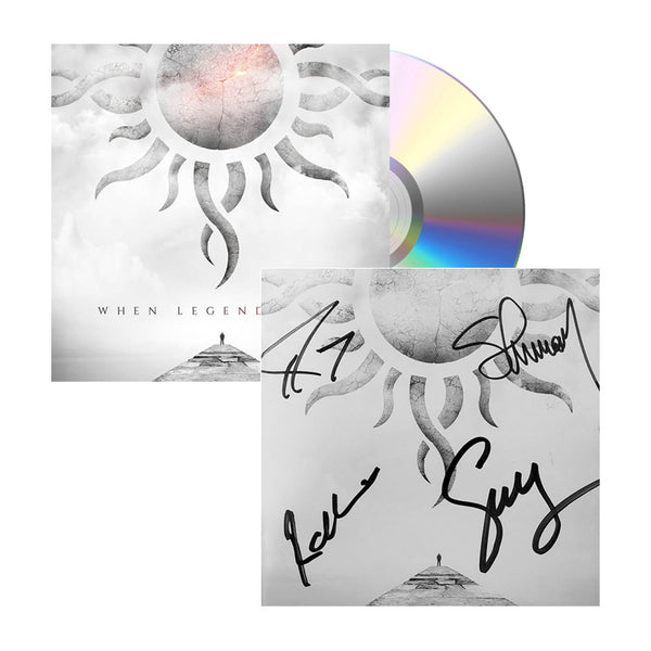 When Legends Rise Signed CD