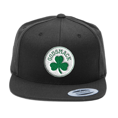 Boston Clover Snapback Hat