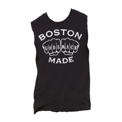 Boston Knuckles Muscle Tank