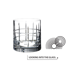 Orrefors Street Double Old Fashioned Glasses (Set of 2)