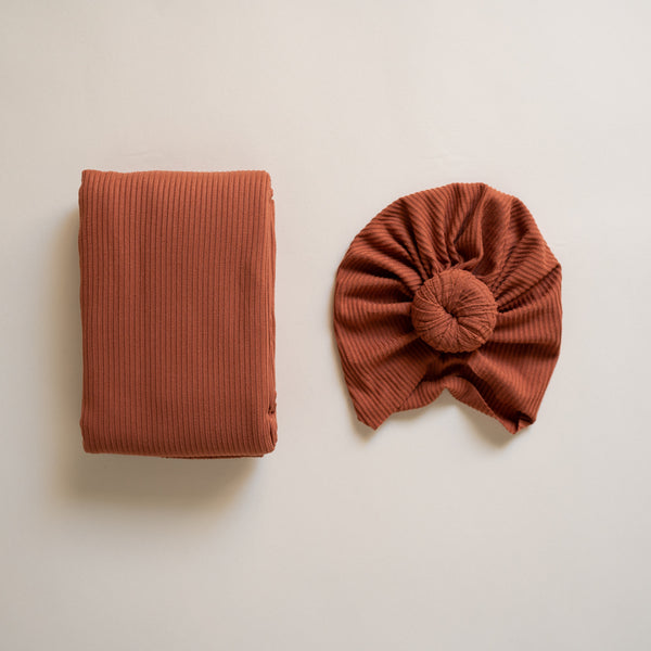 Sienna Turban and Swaddle Set