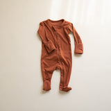 Zipper Footie Onsie
