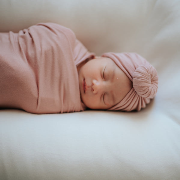 Rosebud Turban and Swaddle Set