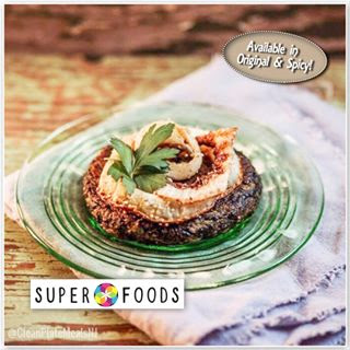 Black Rice Veggie Burger by Super Foods