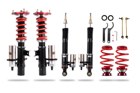 eXtreme XA Remote Canister Coilover Kit - Golf Mk6