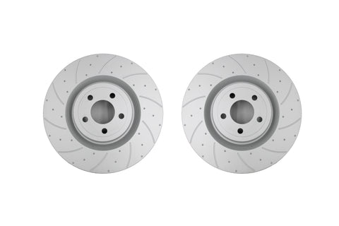 SportRyder Brake Rotors - Rear - Ford Mustang 2015- 2020