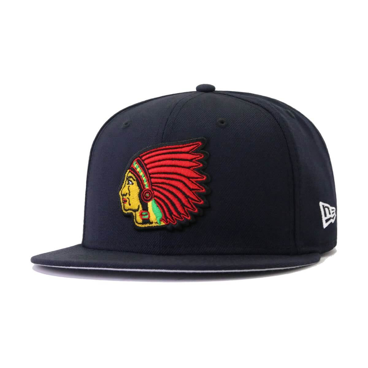 Boston Braves Navy New Era 59Fifty Fitted