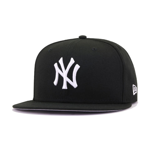 New York Yankees Black New Era 59Fifty Fitted