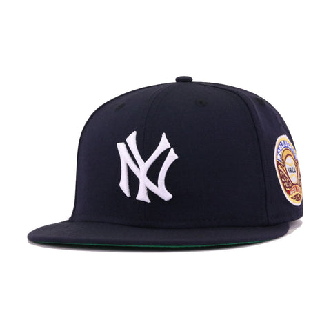 New York Yankees Navy 1923 World Series Cooperstown Green Bottom New Era 59Fifty Fitted