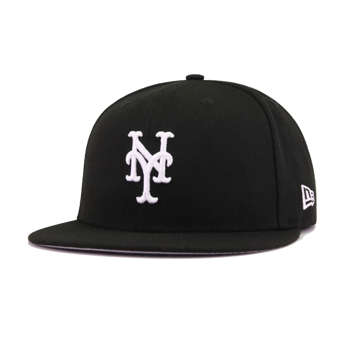New York Mets Black New Era 59Fifty Fitted