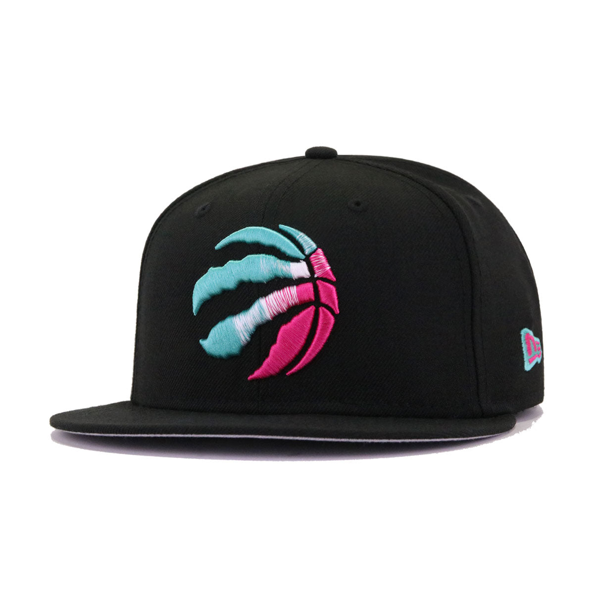 Toronto Raptors Black Aqua Beet Root Purple New Era 9Fifty Snapback