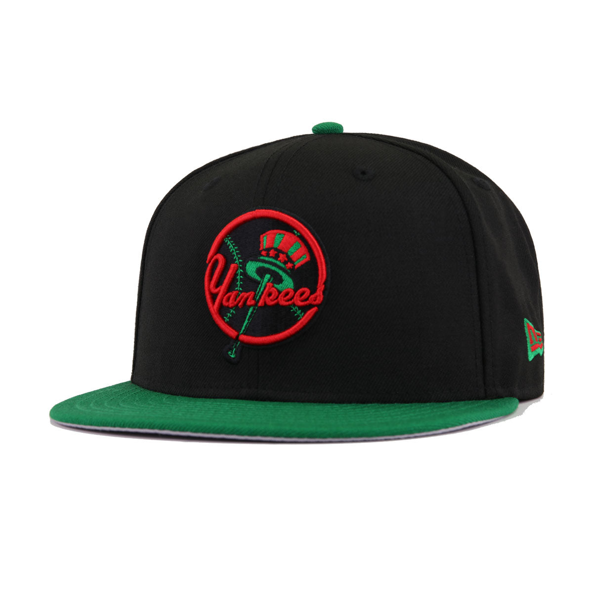 0db7e228ab1 New York Yankees Black Kelly Green New Era 9Fifty Snapback