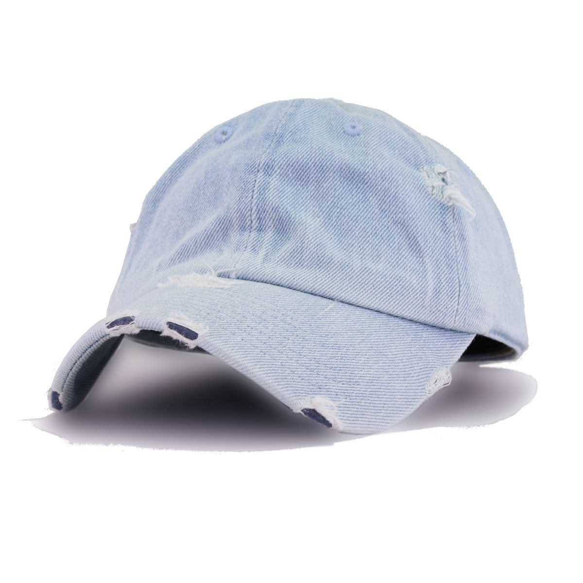 Distressed Light Denim KBEthos Vintage Dad Hat