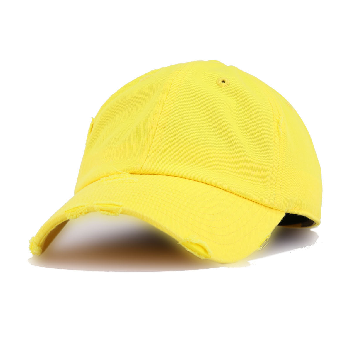 Distressed Yellow KBEthos Vintage Dad Hat