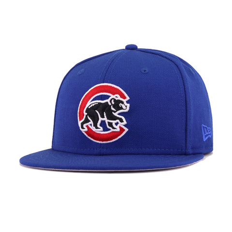 Chicago Cubs Light Royal Blue Bear New Era 59Fifty Fitted