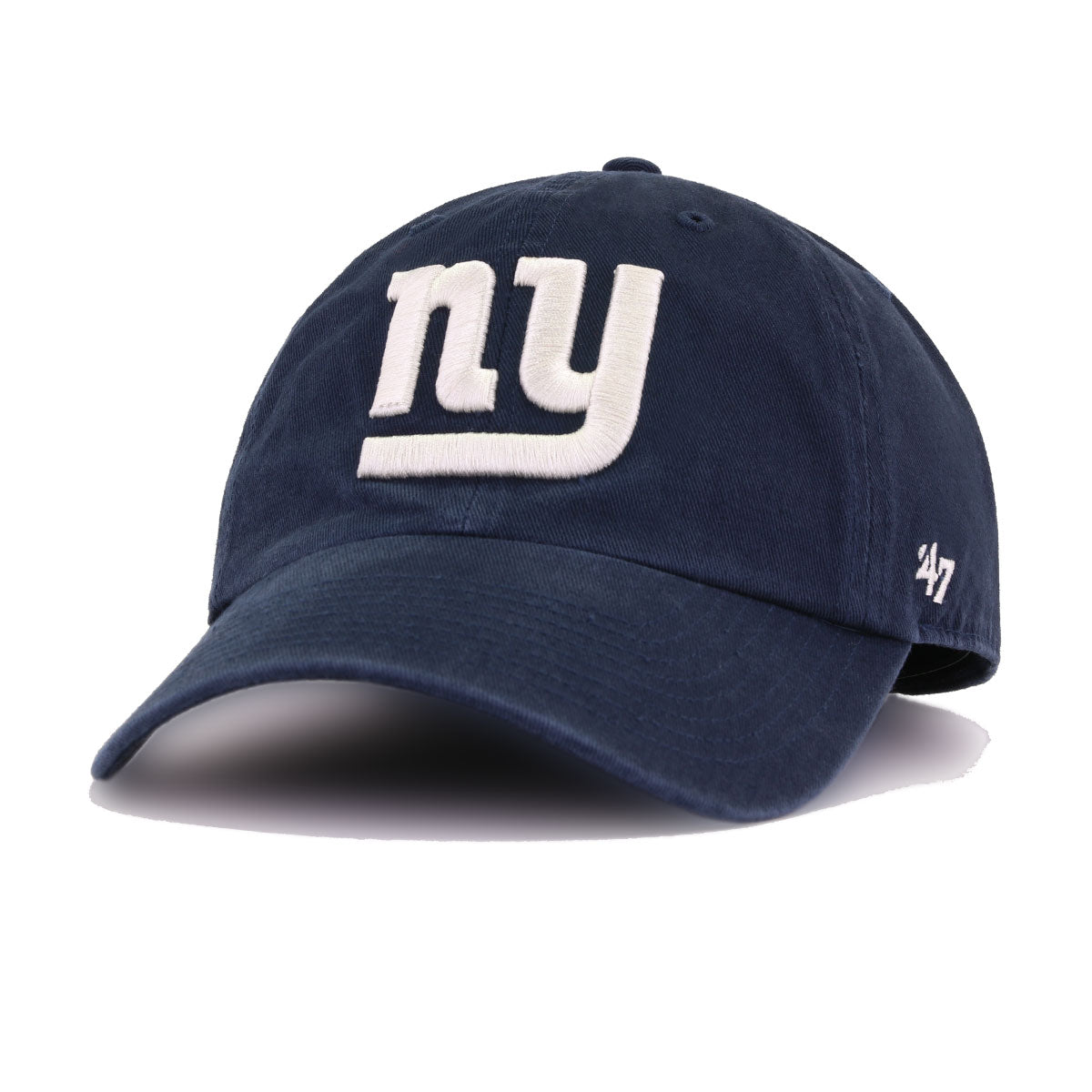 New York Giants Navy 47 Brand Clean Up Dad Hat