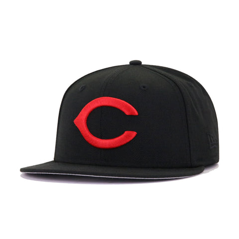 Cincinnati Reds Black 1970 All Star Game New Era 59Fifty Fitted