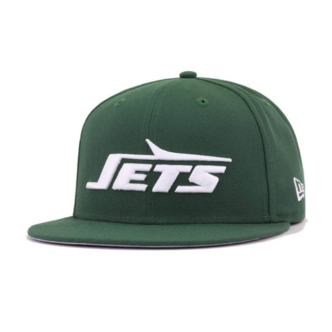 New York Jets Legacy Cilantro Green Super Bowl III New Era 9Fifty Snapback