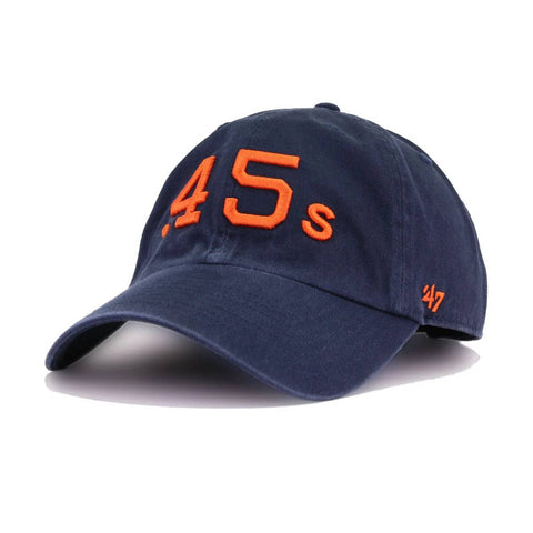 Houston Colt 45s Navy Cooperstown 47 Brand Clean Up Dad Hat