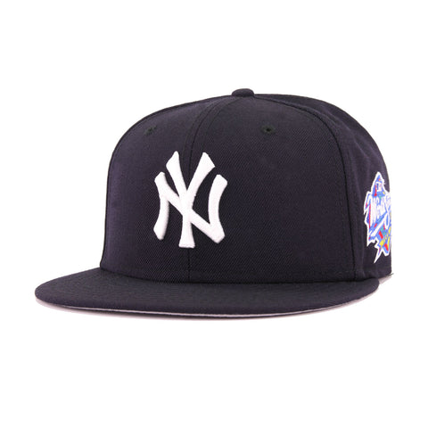a8e9ffda397b2 New York Yankees Navy Cooperstown 1998 World Series New Era 59Fifty Fitted