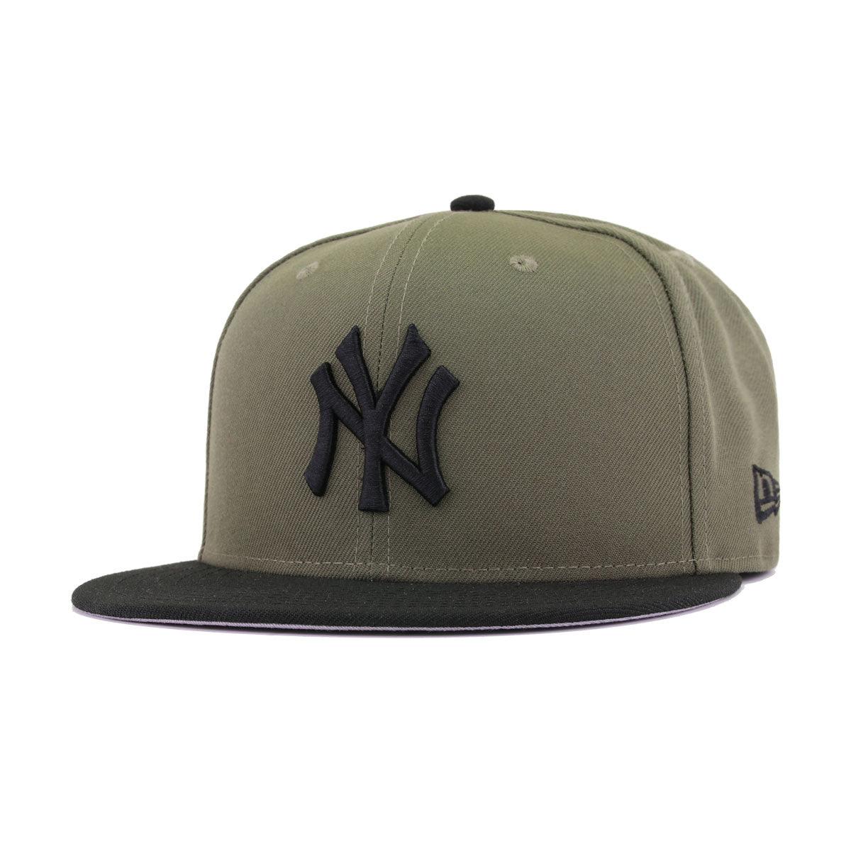 441904a149ee6 New York Yankees New Olive Black New Era 59Fifty Fitted
