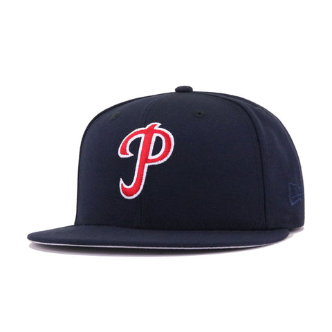 Philadelphia Phillies Navy 1934 Cooperstown New Era 59Fifty Fitted