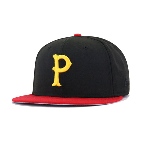 Pittsburgh Pirates Black Scarlet 1903 World Series New Era 59Fifty Fitted