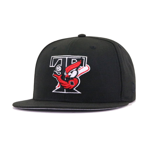 Toronto Blue Jays Black Scarlet 30th Anniversary New Era 59Fifty Fitted