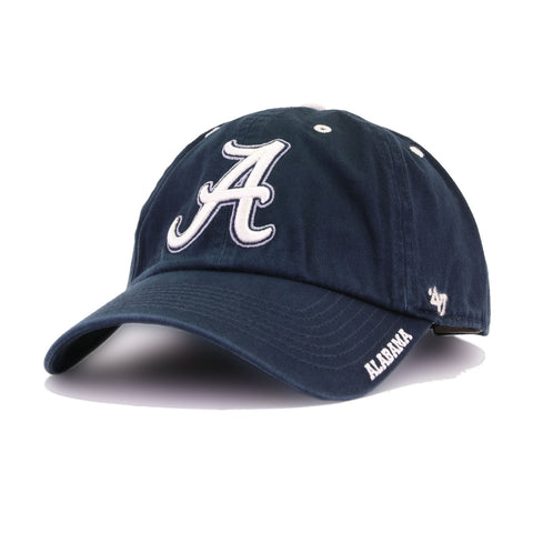 University of Alabama Crimson Tide Navy 47 Brand Clean Up Dad Hat