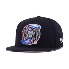 New York Yankees Navy Subway Series Front New Era 9Fifty Snapback