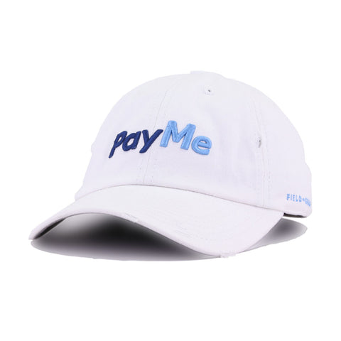 PayMe White Field Grade Dad Hat