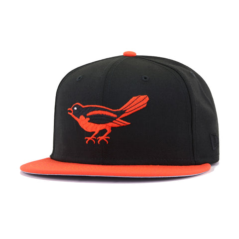 Baltimore Orioles Black Orangeade Cooperstown 1958 All Star Game New Era 59Fifty Fitted