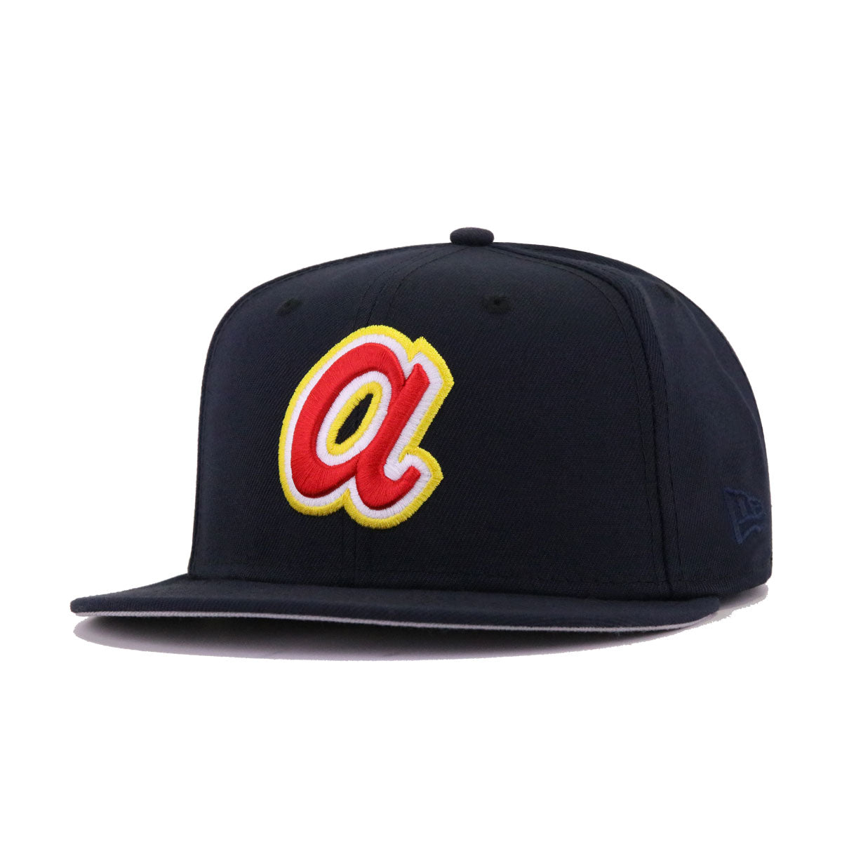 Atlanta Braves Navy Cooperstown New Era 59Fifty Fitted