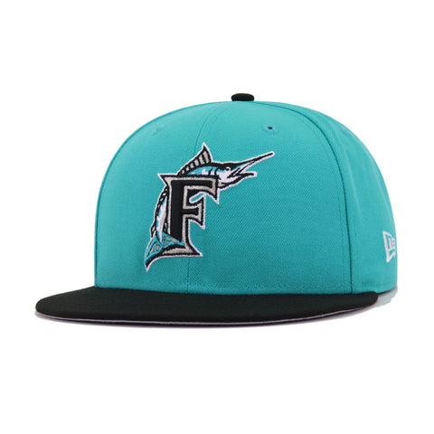 Florida Marlins Teal Black 1997 World Series New Era 9Fifty Snapback