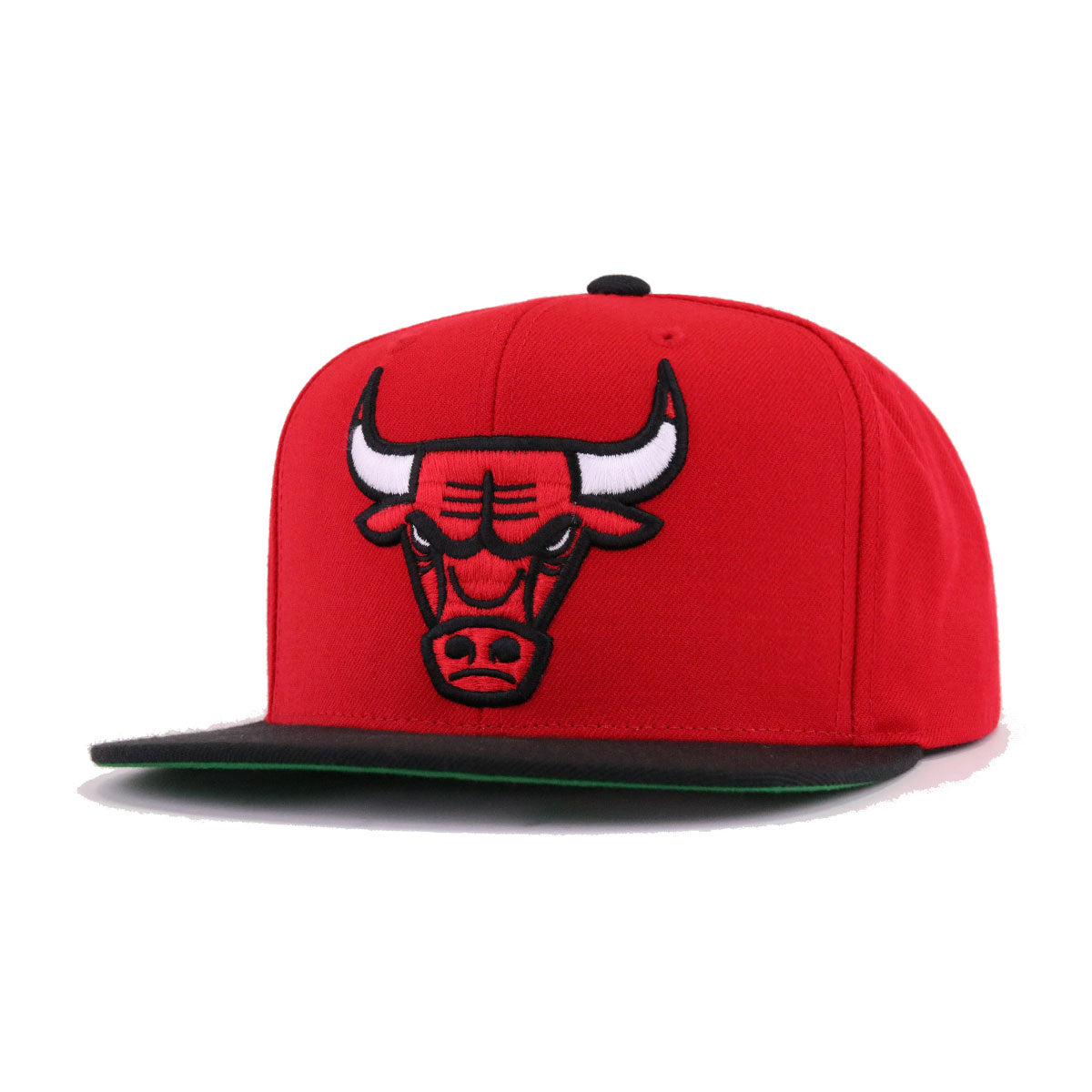c159ffa809e ... discount code for chicago bulls scarlet black mitchell and ness snapback  3fbba 186f5