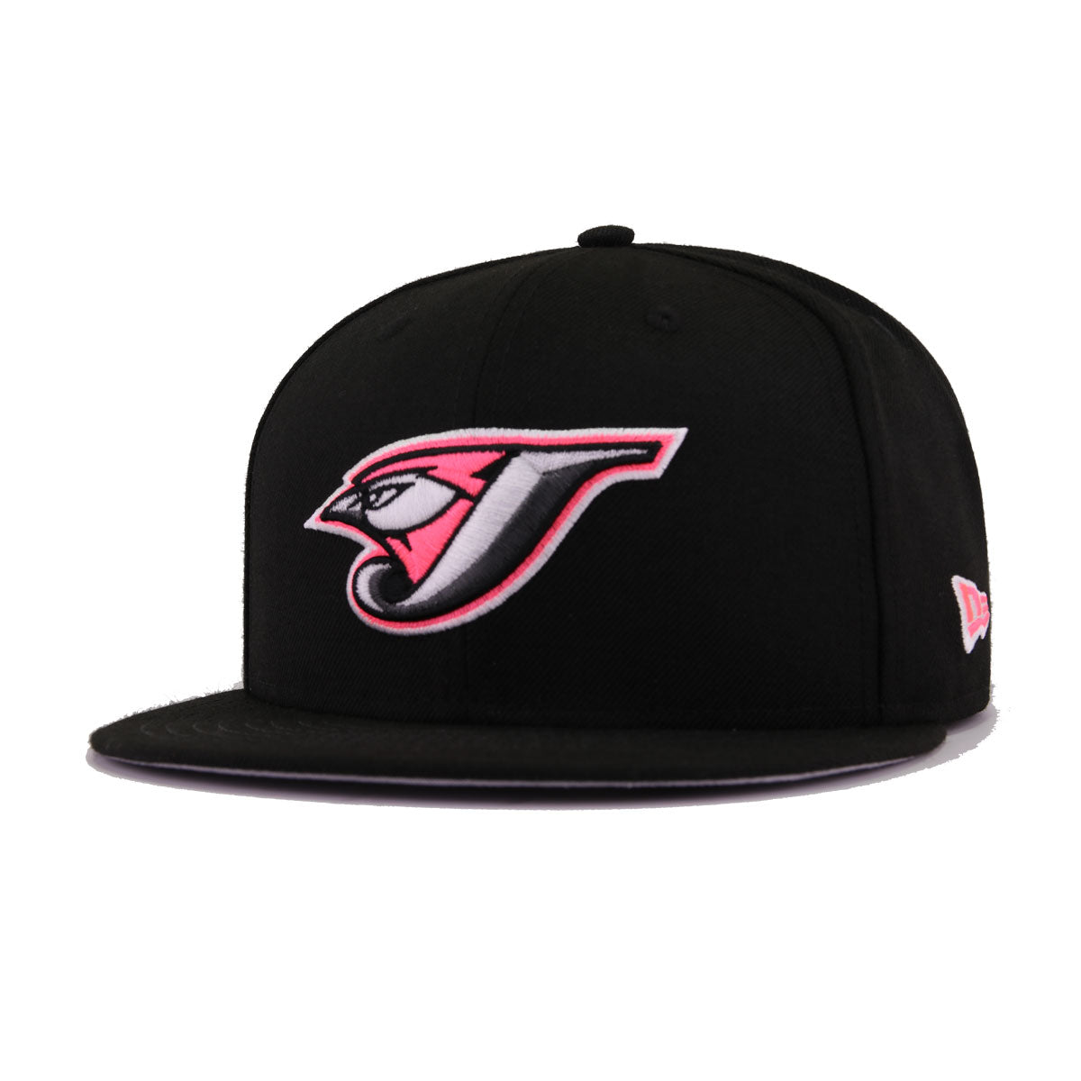 defef24739e Toronto Blue Jays Black Infrared Metallic Silver New Era 9Fifty Snapback