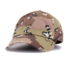 Distressed Desert Camo KBEthos Vintage Dad Hat