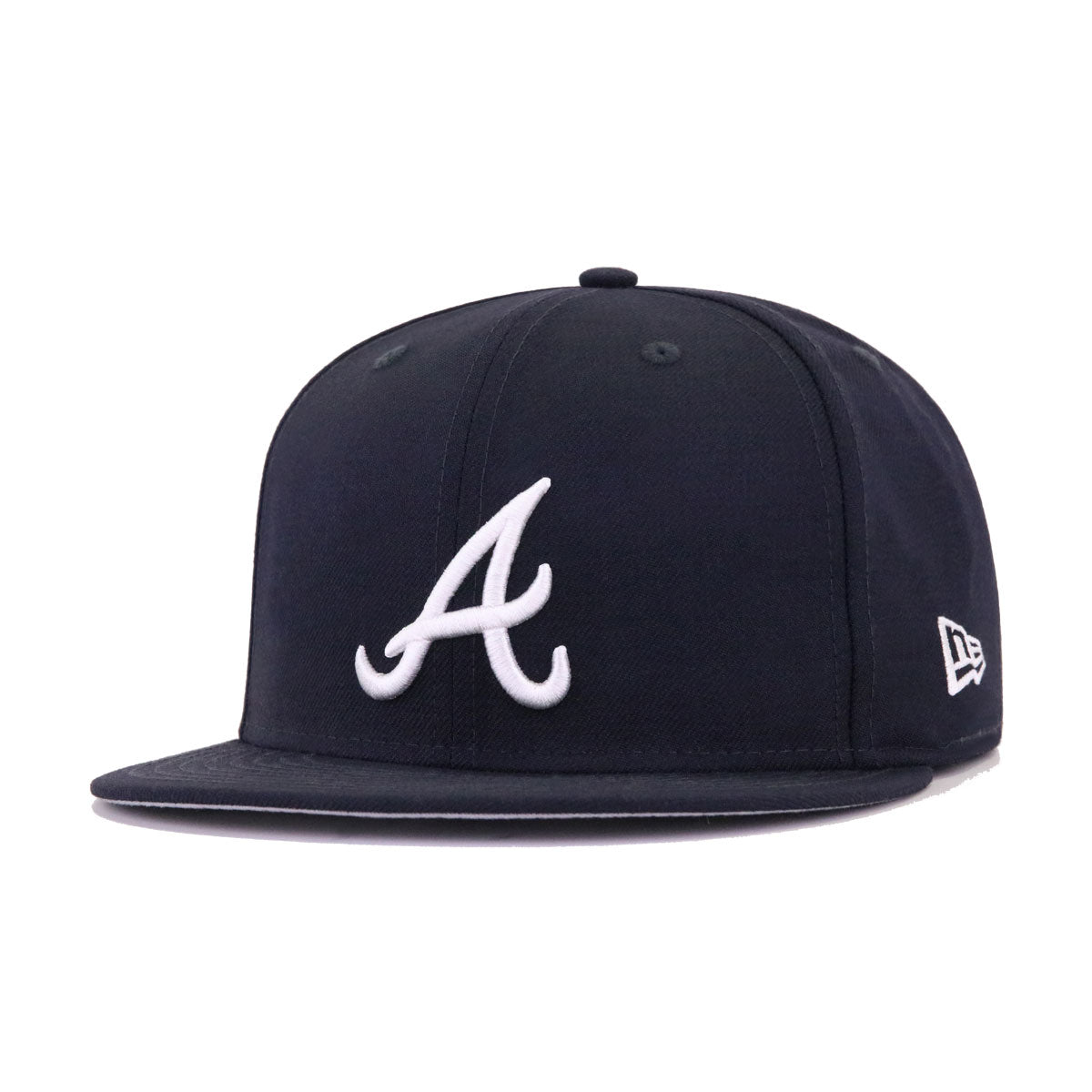 SWAROVSKI x New Era 3.0 Atlanta Braves Navy USA Flag New Era 59Fifty Fitted