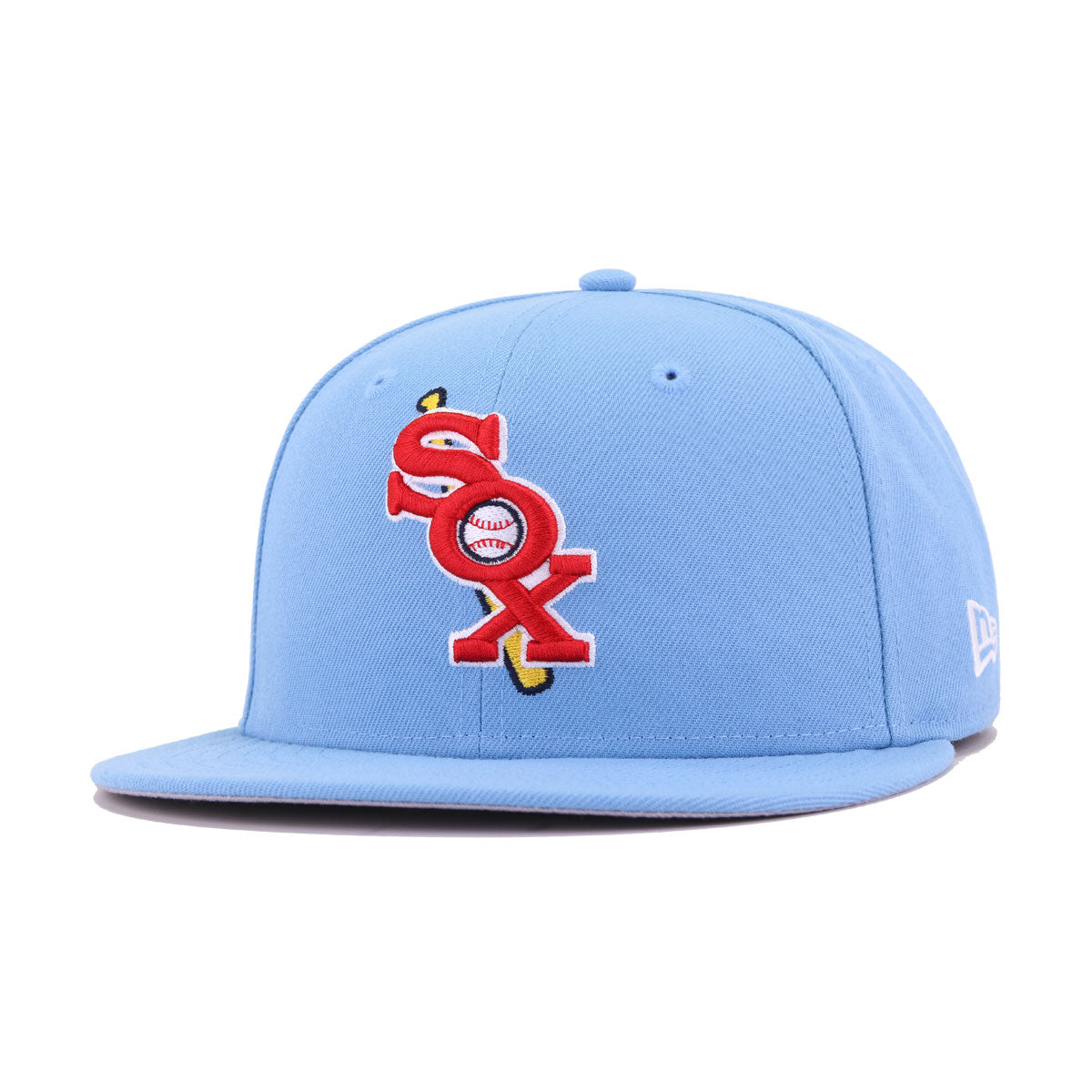 Chicago White Sox Sky Blue Cooperstown New Era 59Fifty Fitted