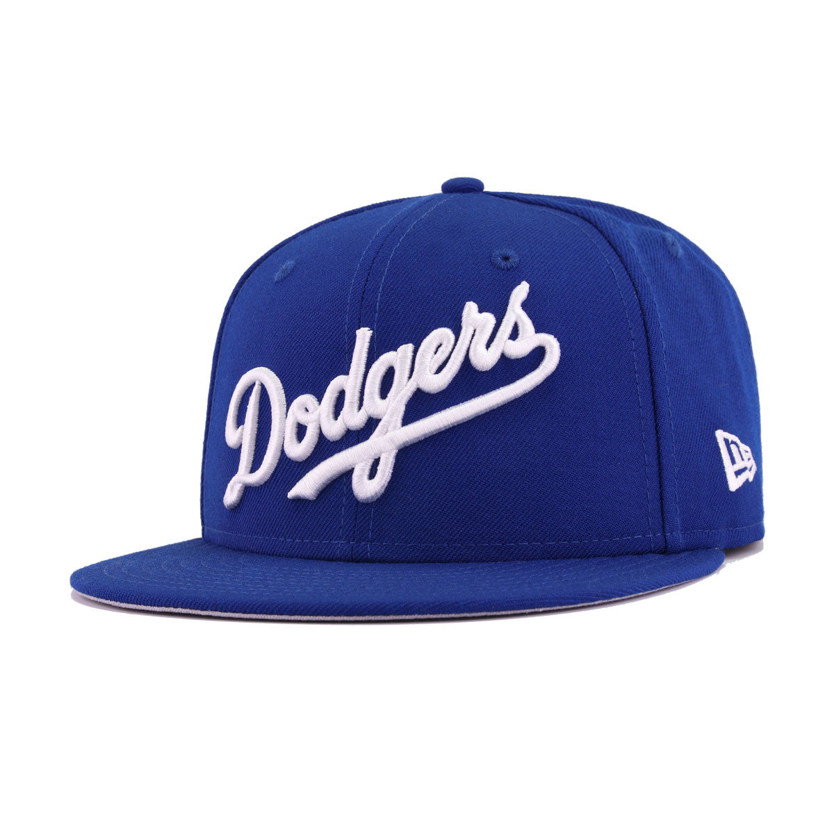Los Angeles Dodgers Light Royal Blue White Wordmark Logo 50th Anniversary New Era 9Fifty Snapback